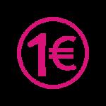 Picto permis 1 euro